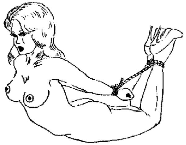 Self bondage instruction pics