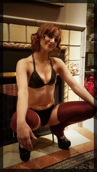 Pounded her tight virgin hole garter belt stockings stiletto heels