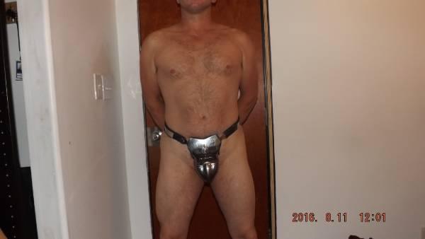 in chastity belts Twink